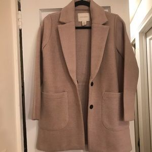 Cynthia Rowley Chevron Coat, Size XS